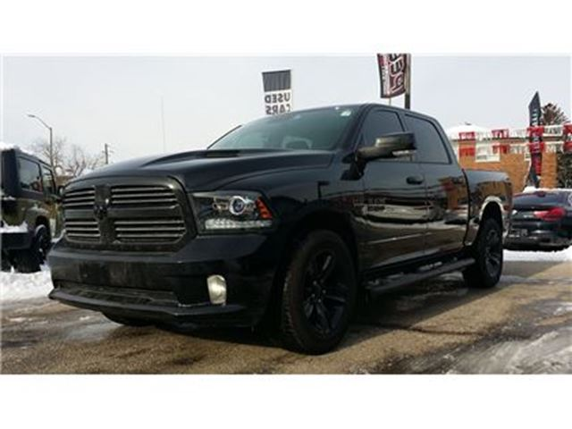 2017 DODGE RAM 1500 Sport**NAV**BACK-UP CAM**HTD SEATS/WHEEL** in Mississauga, Ontario