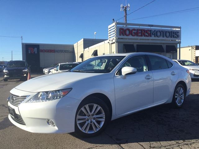 2014 LEXUS ES 350 - NAVI - LEATHER - REVERSE CAM in Oakville, Ontario