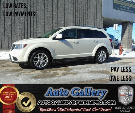 2012 DODGE JOURNEY SXT *Roof in Winnipeg, Manitoba