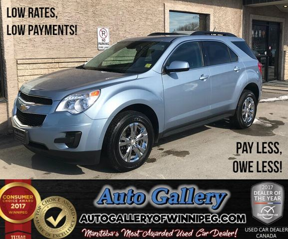 2015 CHEVROLET EQUINOX LT *AWD in Winnipeg, Manitoba