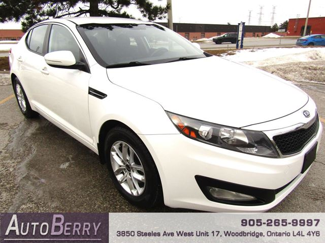 2012 KIA OPTIMA LX - 6 Speed Manual in Woodbridge, Ontario