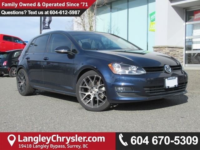 2017 VOLKSWAGEN GOLF 1.8 TSI Comfortline in Surrey, British Columbia