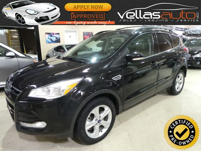 2013 FORD ESCAPE SEL| 4WD| NAVI| LEATHER| ROOF in Vaughan, Ontario
