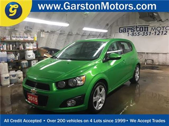2015 CHEVROLET SONIC LT*BACK UP CAMERA*POWER SUNROOF*POWER WINDOWS/LOCK in Cambridge, Ontario