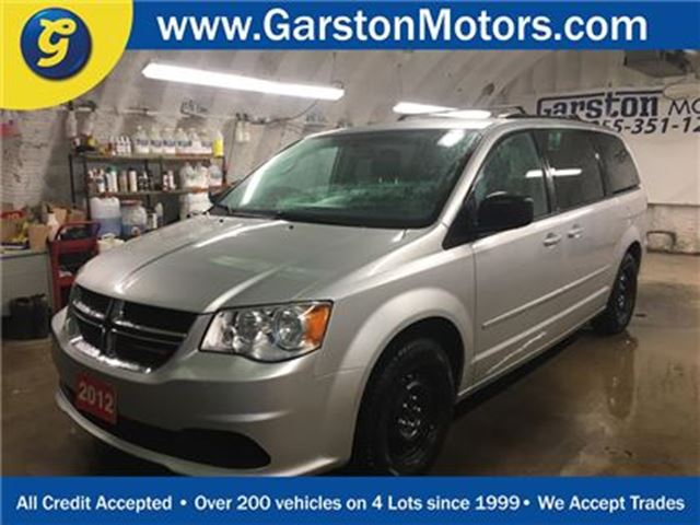 2012 DODGE GRAND CARAVAN SXT*BACK UP CAMERA*REAR DVD PLAYER*DUAL ROW STOW N in Cambridge, Ontario