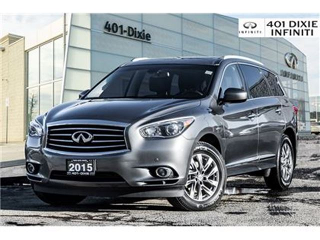 2015 INFINITI QX60 AWD, Drive Assist! Navigation & Blind Spot! in Mississauga, Ontario