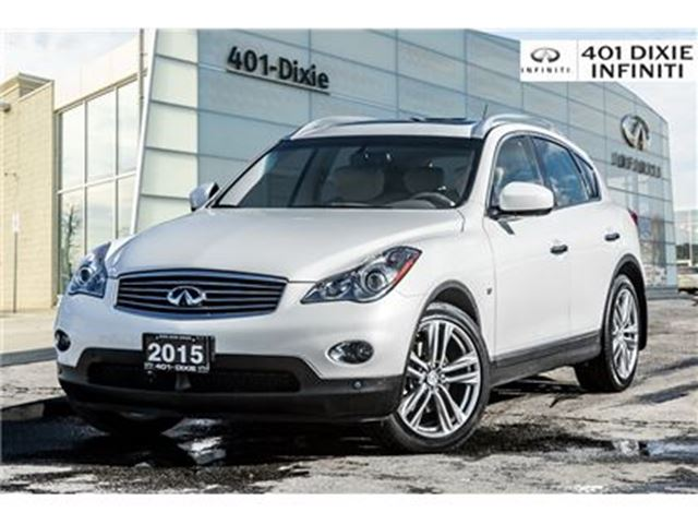 2015 INFINITI QX50 AWD, Navigation Package! Leather! 325 HP! in Mississauga, Ontario