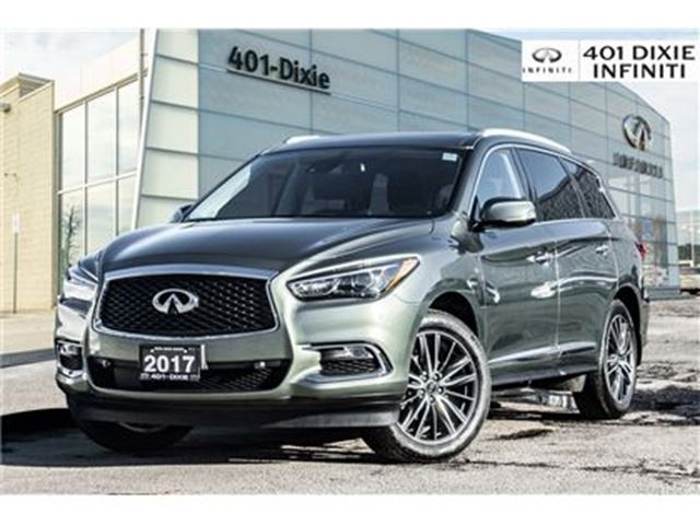 2017 INFINITI QX60 AWD, Tech Package! Blind Spot! in Mississauga, Ontario