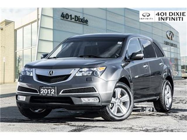 2012 ACURA MDX AWD, Leather, Moonroof! Set of Winter Tires Inc! in Mississauga, Ontario