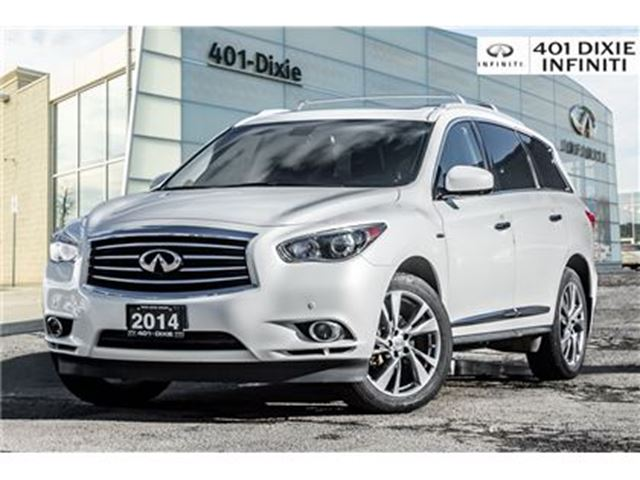 2014 INFINITI QX60 AWD, Tech Package! Blind Spot! HYBRID! in Mississauga, Ontario
