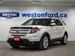 2012 Ford Explorer Limited Roof Nav in Toronto, Ontario