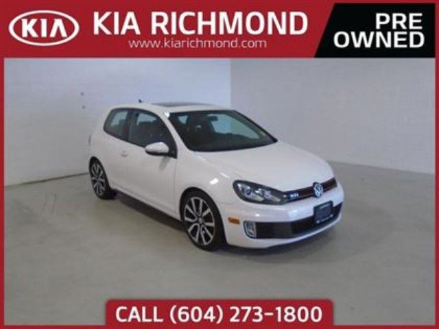 2013 VOLKSWAGEN GOLF GTI 3-Door in Richmond, British Columbia