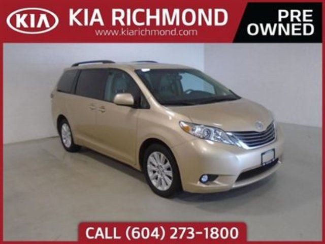 2011 TOYOTA SIENNA Limited in Richmond, British Columbia