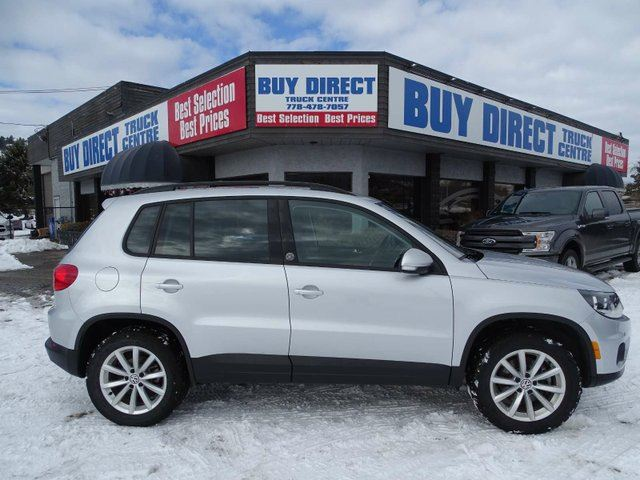2017 VOLKSWAGEN TIGUAN Wolfsburg Edition 4dr All-wheel Drive 4MOTION in Kelowna, British Columbia