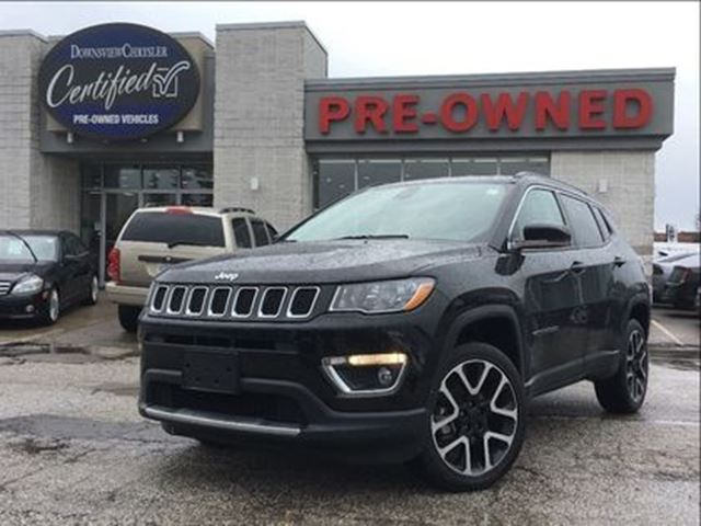 2017 JEEP COMPASS Limited..$99 weekly+hst..$0 down..96m..4.9% in Toronto, Ontario