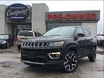 2017 Jeep Compass Limited  4WD   NAVI   VENTED SEATS in Toronto, Ontario