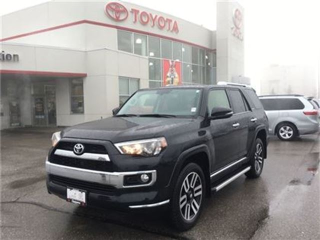2016 Toyota 4Runner Limited 5 Passenger TCUV Remote Start in Bowmanville, Ontario