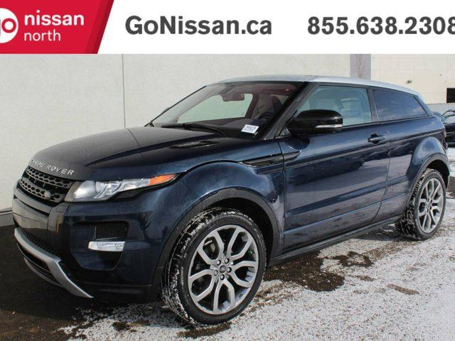 2013 LAND ROVER RANGE ROVER EVOQUE PURE: NAVIGATION, PANORAMIC ROOF, AWD in Edmonton, Alberta