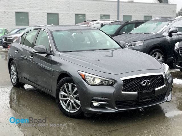 2014 INFINITI Q50 Premium A/T AWD No Accident One Owner Bluetooth in Port Moody, British Columbia