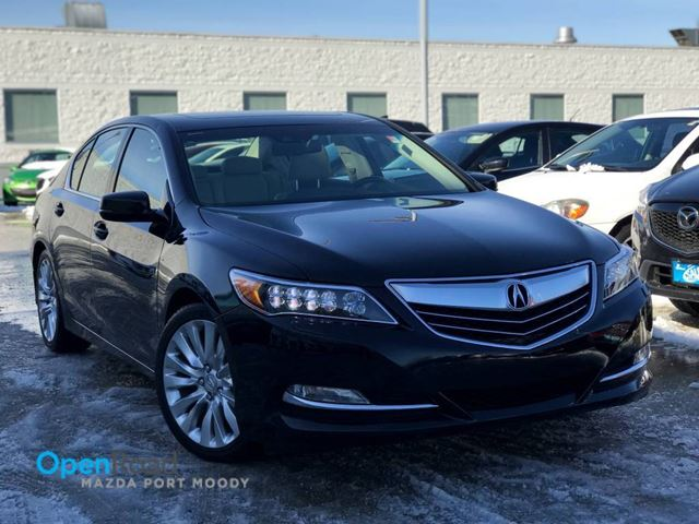 2014 ACURA RLX Tech A/T FWD No Accident One Owner P-AWS Blueoo in Port Moody, British Columbia