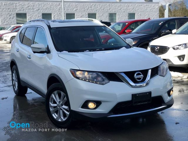2014 NISSAN ROGUE SV A/T AWD No Accident One Owner Blueooth USB A in Port Moody, British Columbia