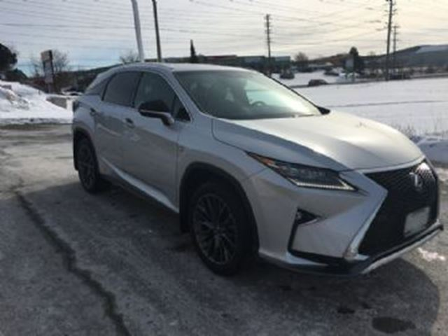 2016 LEXUS RX 350 Fsport 2     All-Wheel Drive in Mississauga, Ontario