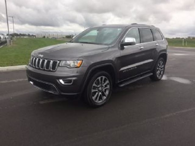 2018 JEEP GRAND CHEROKEE Limited 4x4 in Mississauga, Ontario
