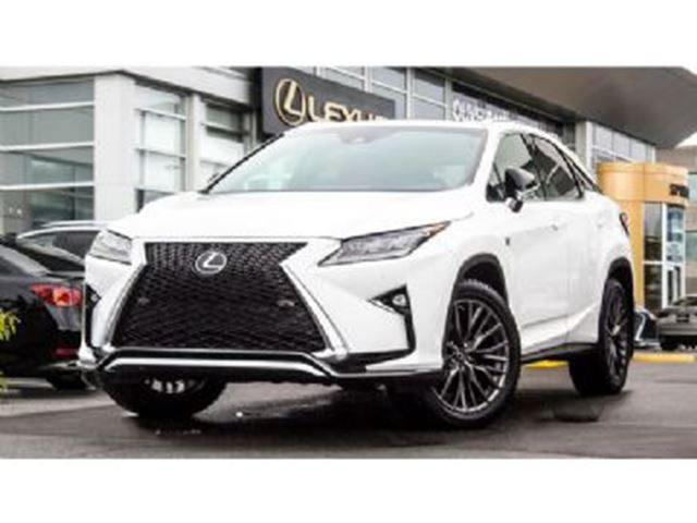 2017 LEXUS RX 350 AWD 4dr F Sport 3 Series in Mississauga, Ontario