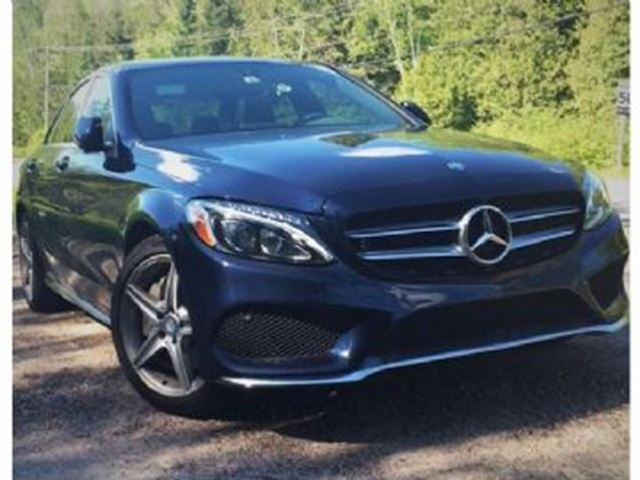 2017 MERCEDES-BENZ C-CLASS 300 4Matic Premium and Sport Package in Mississauga, Ontario