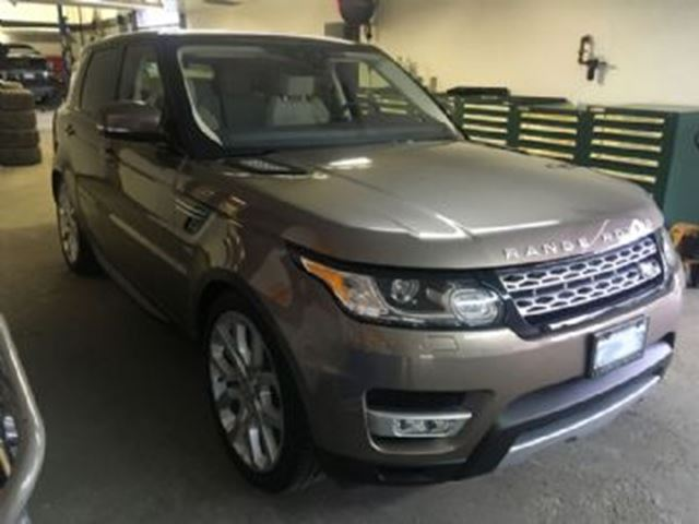 2017 LAND ROVER RANGE ROVER Sport 4WD  Td6 HSE TURBO DIESEL in Mississauga, Ontario