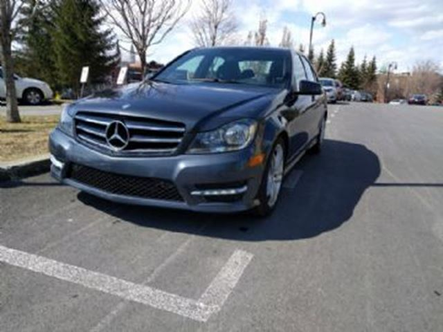 2014 MERCEDES-BENZ C-CLASS C300 4MATIC-Sport-Lease Protection in Mississauga, Ontario