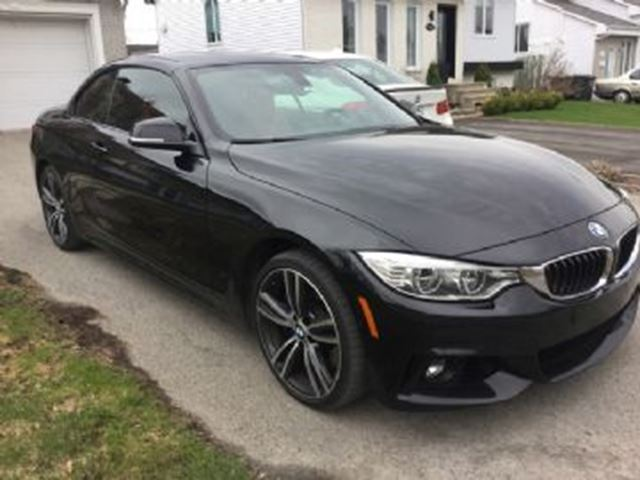 2016 BMW 4 SERIES 435i xDrive Cabriolet in Mississauga, Ontario