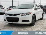 2012 Honda Civic EX COUPE SUNROOF POWER OPTIONS 1 OWNER in Edmonton, Alberta