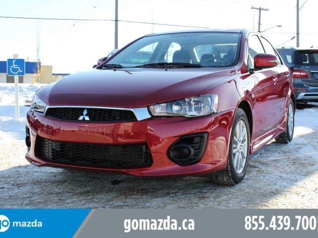 2017 MITSUBISHI LANCER ES AWC POWER OPTIONS 1 OWNER ACCIDENT FREE in Edmonton, Alberta