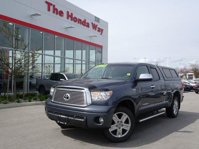 2010 TOYOTA TUNDRA Limited 5.7L Double Cab 4WD in Abbotsford, British Columbia