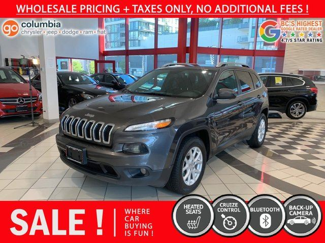 2016 JEEP CHEROKEE LATI in Richmond, British Columbia