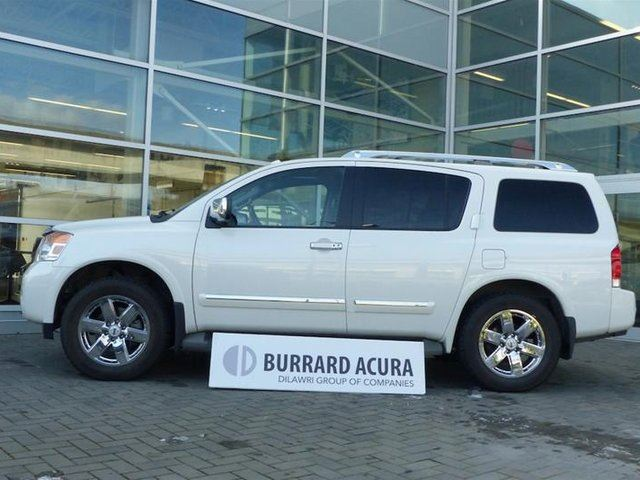 2013 NISSAN ARMADA Platinum Ed. at in Vancouver, British Columbia