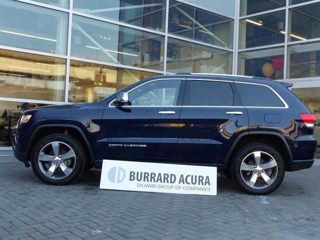 2016 JEEP GRAND CHEROKEE 4x4 Limited in Vancouver, British Columbia
