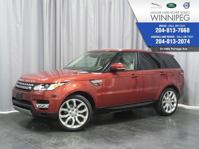 2014 LAND ROVER RANGE ROVER Sport HSE *LOCAL TRADE* *GREAT PRICE* in Winnipeg, Manitoba