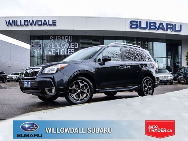 2015 SUBARU FORESTER 2.0XT Limited at in Thornhill, Ontario