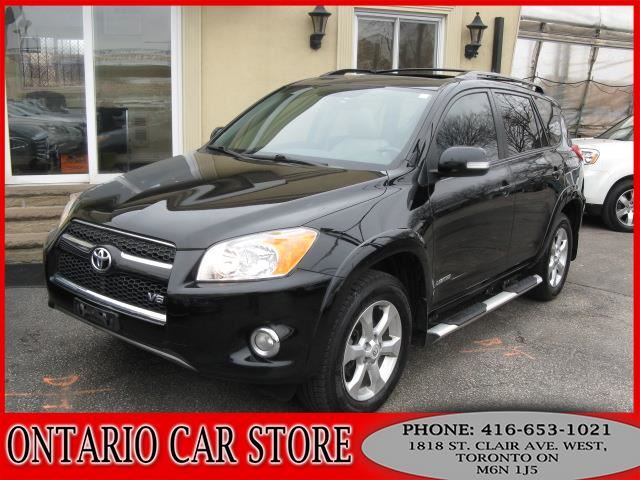 2010 TOYOTA RAV4 Limited V6 4WD !!!1 OWNER NO ACCIDENTS!!! in Toronto, Ontario