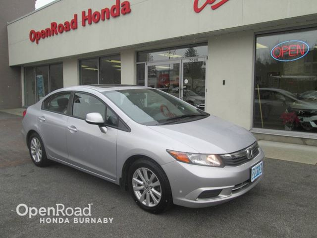 2012 HONDA CIVIC  EX in Burnaby, British Columbia