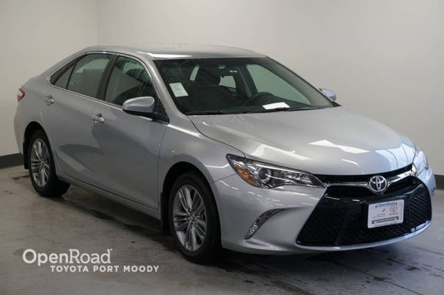 2015 TOYOTA CAMRY SE  No Accidents in Port Moody, British Columbia