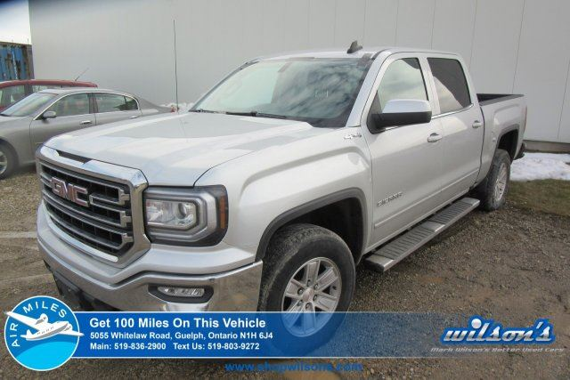 2016 GMC SIERRA 1500 SLE CREW CAB 5.3L V8 4X4  REAR CAMERA! REMOTE START! POWER PACKAGE! SIDE STEPS! in Guelph, Ontario