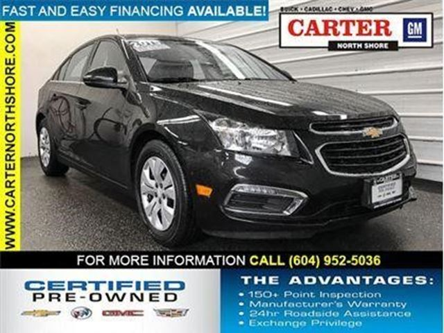 2015 CHEVROLET CRUZE 1LT in North Vancouver, British Columbia