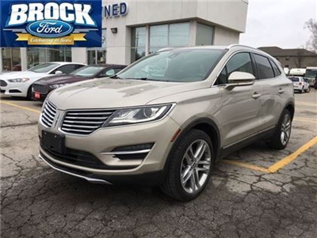 2015 LINCOLN MKC Base - Panoramic Roof, Navigation, Leather in Niagara Falls, Ontario