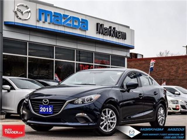 2015 MAZDA MAZDA3 GS ACCIDENT FREE LEASE RETURN in Markham, Ontario