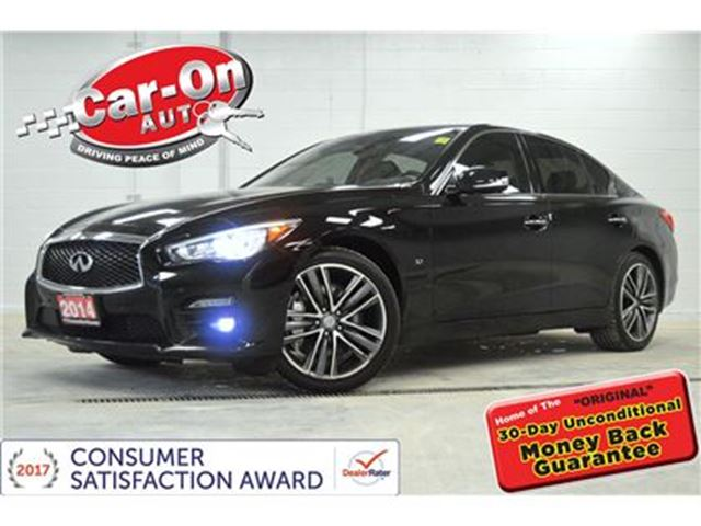 2014 INFINITI Q50 Q50S DELUXE TOURING & TECH AWD LEATHER NAV SUNROOF in Ottawa, Ontario