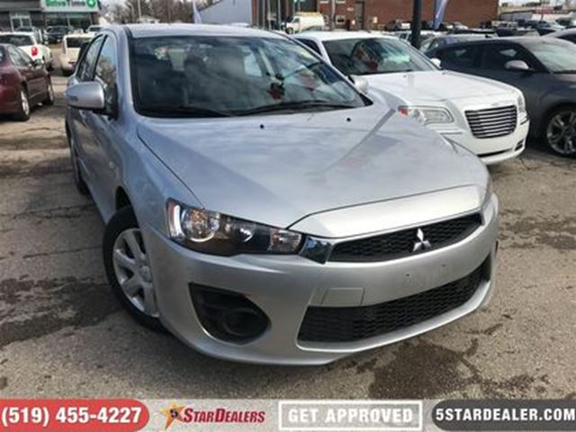 2017 MITSUBISHI LANCER ES   ONE OWNER   CAM   HEATED SEATS in London, Ontario