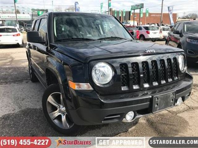 2016 JEEP PATRIOT High Altitude   LEATHER   ROOF   ONE OWNER   4X4 in London, Ontario